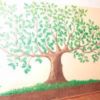 Малюнок на стіні в школі с. Хорлупи