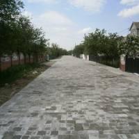 Капітально відремонтована частина дороги по вулиці Зеленій у Підгайцях.