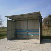 Одна з нових зупинок в селі Лище