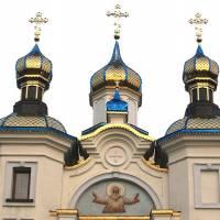 Декорації куполів після реставрації церкви