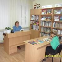 Бібліотека с.Сарнівка