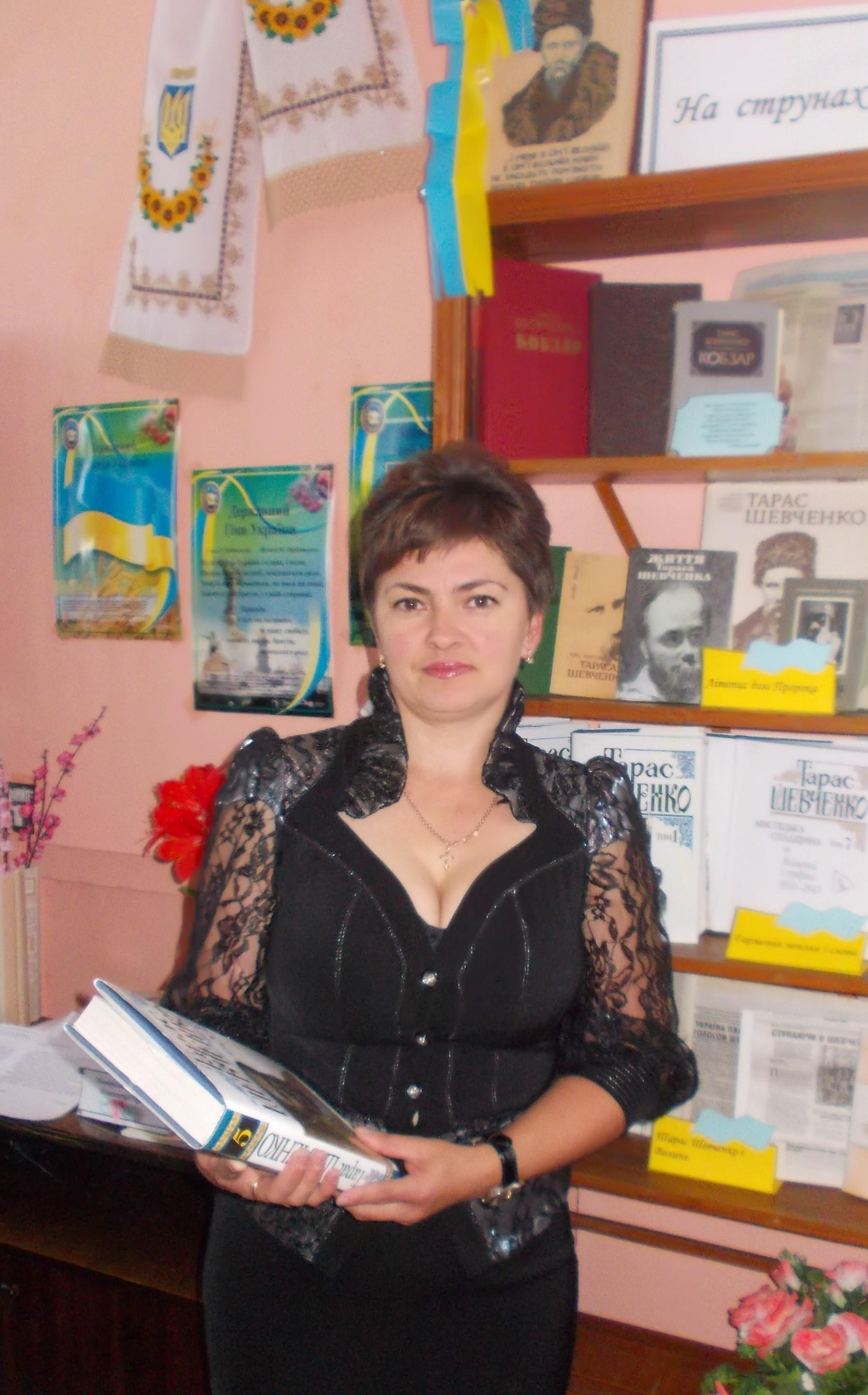 Провідний бібліотекар бібліотеки -філії с.Сереховичі Шеремета Лариса Миколаївна