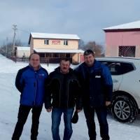 Зустріч голови ОТГ Р.Шиманського з представниками ОБСЄ