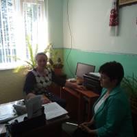 Зустріч з директором школи село Солов'ї