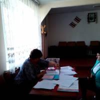Зустріч в будинку культури село Синове