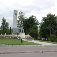 Меморіал слави, смт Турійськ.