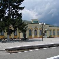 Залізничний вокзал смт Турійськ