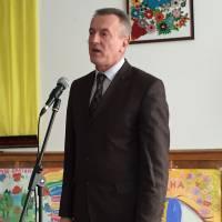 Начальник гуманітарного відділу Василь Стрільчук вітає учасників