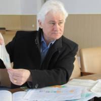 на фото: Валентин Малиновський