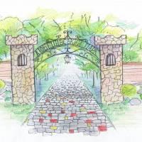 Наші бачення (вхід до старовинного парку)