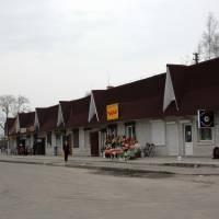 Торговий ряд асоціації підприємців малого бізнесу Романів