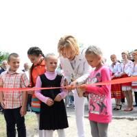 Відкриття дитячого майданчика за сприяння народного депутата І.Єремєєва