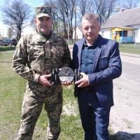 Командування Волинської 14-ої механізованої бригади імені Романа Великого приїхало до Гуто-Боровенської об'єднаної територіальної громади з подякою за надану допомогу