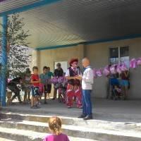 Дітям свято дарував клоун Микола