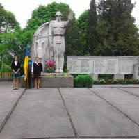 Обеліск Слави воїнам переможцям в селі Сільце