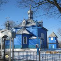 Хрестовоздвиженська церка МП памятка архітектури, дата спорудження 1860 р