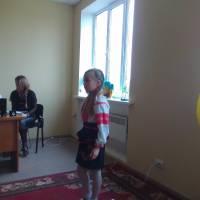 Юлія Колядюк читає вірш