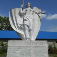 Пам_ятник загиблим землякам у роки ВВВ с. Щедрогір