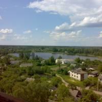 озеро Чорне- вид згори