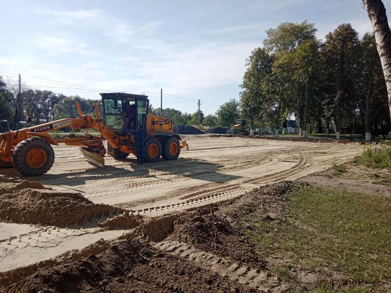 стадіон для міні-футболу із штучним покритям біля ЗОШ І-ІІІ ст. с. Суходоли