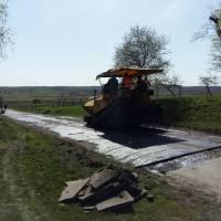 Ремонт дороги Ласків - Вощатин - Суходоли 2019 рік
