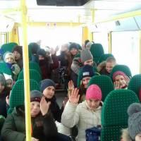 перший рейс шкільного автобуса