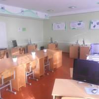 Комп'ютерний клас школи с.Ласків