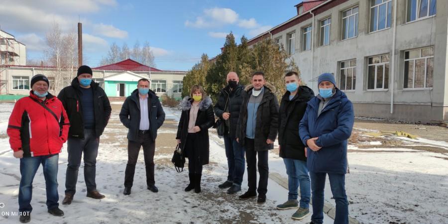 Відбувся моніторинг виконання будівельних робіт на об'єктах Лозно-Олександрівської селищної територіальної громади