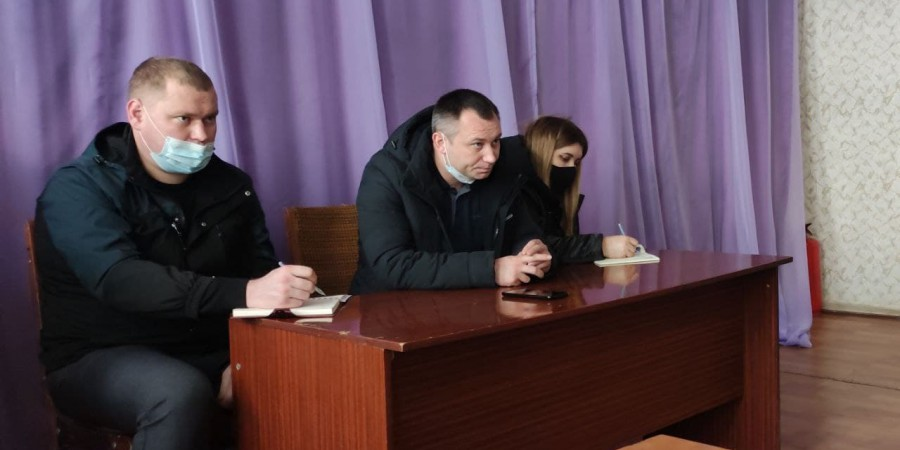 Голова Лозно-Олександрівської селищної територіальної громади продовжує проводити робочі зустрічі з місцевим населенням