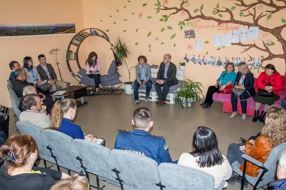 Керівники Програми розвитку ООН зустрілися з громадськістю Новопсковської ОТГ