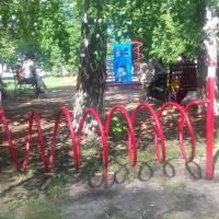 Дитячий майданчик смт Новопсков біля РЦКД
