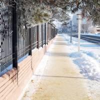 Тротуари зимові