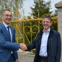 Бенедикт Херрманн,   представник  ЄС  з питань політики децентралізації, запевнив голову Новопсковської громади в своїй підтримці