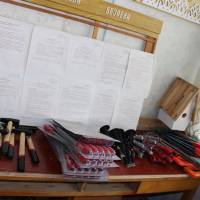 Кабінет трудового навчання в Осинівському ЗЗСО  N2