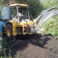 Капітальний ремонт підвідного та розподільчого водогонів у селі Розпасіївка