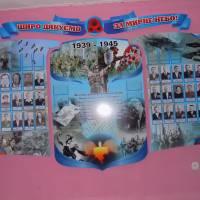 Школярі привітали ветерана