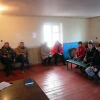 Звіти виконуючої обов'язки старости Марини Сеніної перед мешканцями населених пунктів Демино-Олександрівського старостинського округу
