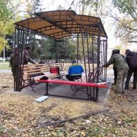 Реконструкція Парку культури та відпочинку селища Троїцьке. Фотозвіт