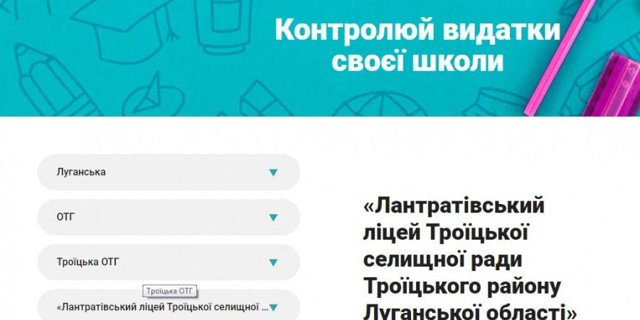 Iнтерактивний бюджет шкiл - проект CASE Україна