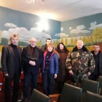 Зустріч з трудовим колективом (лісництво)