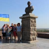 Божедарівська об'єднанна громада, відвідала історичні місця нашого краю. Могила Івана Сірка. Село Капулівка Дніпропетровської області.