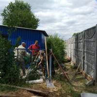 фундамент під бетонний забор в ДНЗ Білочка