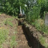 Відновлюємо давно замулені водовідвідні траншеї