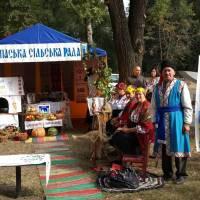 Наші артисти, музей, спащани та хуторяни, представляють сільську раду в місті Перещепино