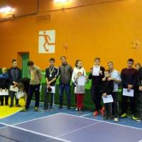 Фінал турніру з настільного тенісу серед аматорів. смт Солоне