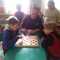 Фінал турніру з шашок серед школярів