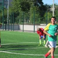 Товариський матч з мініфутболу серед ветеранів (40+) на перехідний Кубок Мера Солонянської ОТГ