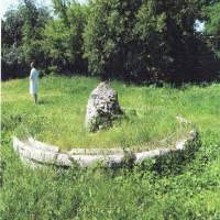 Фонтан на території маєтку Давида Пчілки
