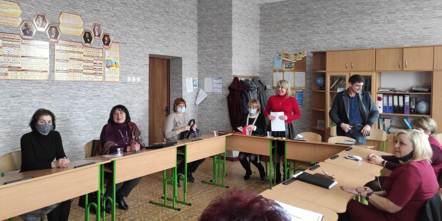 Відбулась чергова атестація педагогів Черкаської громади