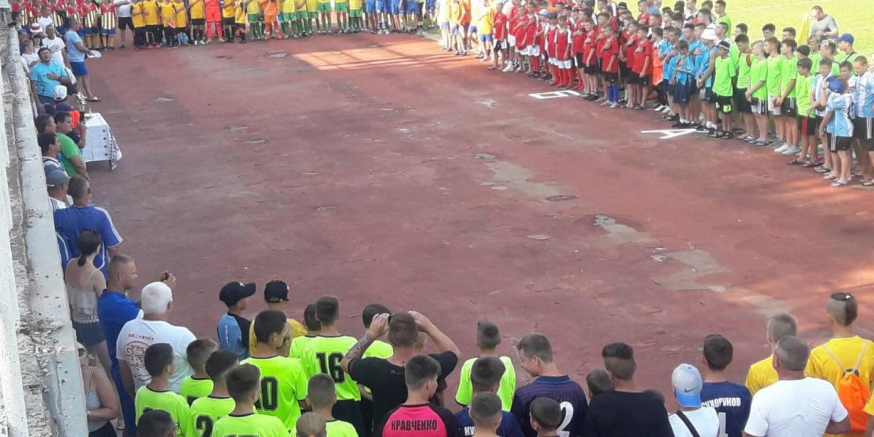 Всеукраїнські змагання з футболу у м. Скадовськ